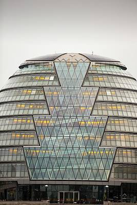City Hall At More London Print by Ashley Cooper