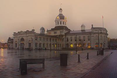 City Hall Kingston Oct 30 2013 Print by Jim Vance