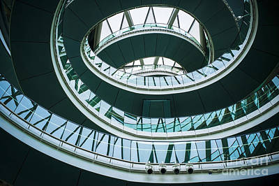 Walkway Digital Art - City Hall London by Donald Davis