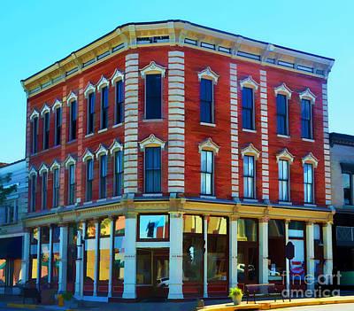 4th July Digital Art - City - Hannibal Missouri - Mark Twain- Luther Fine Art by Luther   Fine Art