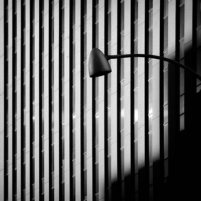 Semi Abstract Photograph - City Lamp by Dave Bowman