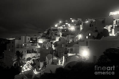 Vacances Photograph - City Lights by Aiolos Greek Collections