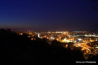 Photograph - City Lights by Dan  Dickerson
