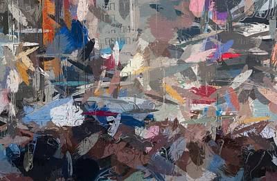 City Never Sleeps Print by Stefan Kuhn