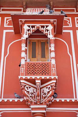City Palace, Jaipur, Rajasthan, India Print by Keren Su