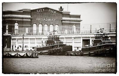 City Pier Broadway Print by John Rizzuto