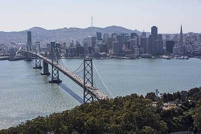 Photograph - City Skyline From Yerba Buena Island by Dave Cleaveland