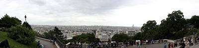 Sacre Coeur Photograph - City Viewed From Sacre-coeur Basilica by Panoramic Images