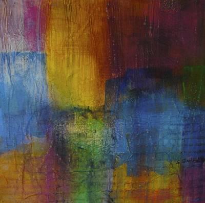 Cityscape I Original by Shirley Shepherd