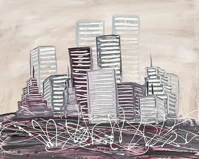Cityscape Original by Melissa Smith