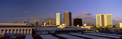 Rooftop Photograph - Cityscape Phoenix Az by Panoramic Images