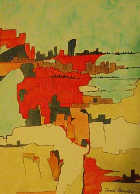 Cityscapes One Original by David Raderstorf