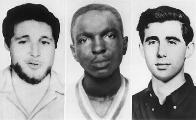 Civil Rights Workers Murdered Print by Underwood Archives