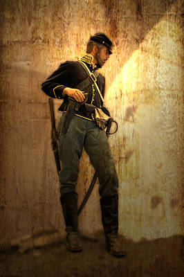 Civil War Soldier Print by Thomas Woolworth