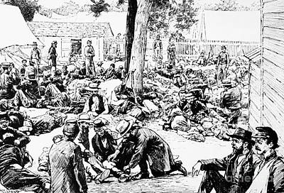 Civil War: Wounded, 1862 Print by Granger
