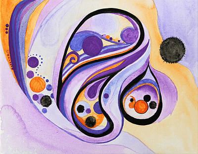 Sahasrara Painting - Clairvoyant by Alla Ilencikova