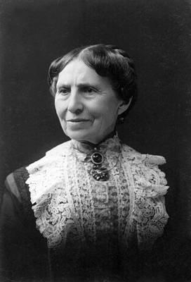 Clara Photograph - Clara Barton by E. Purdy