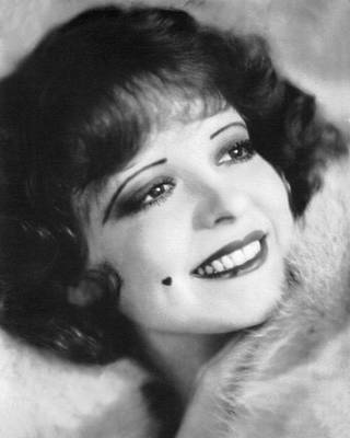 Clara Photograph - Clara Bow, the It Girl by Underwood Archives