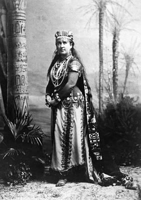 Aida Photograph - Clara Louise Kellogg (1842-1914) by Granger
