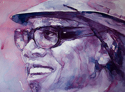 Clarence Clemons Print by Laur Iduc