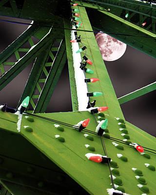 Clarence's Bridge Print by Tom Romeo