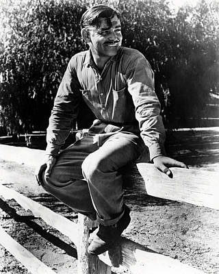 Movies Photograph - Clark Gable In It Happened One Night  by Silver Screen
