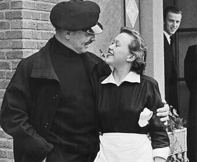 Movie Star Photograph - Clark Gable by Martin Harris