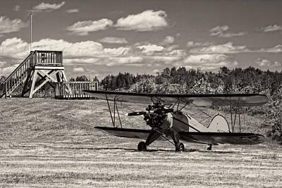 Classic 1931 Waco Ubf-2 Biplane    Print by Keith Webber Jr