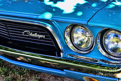 Art Dealer Photograph - Classic 1974 Dodge Challenger by Paul Ward