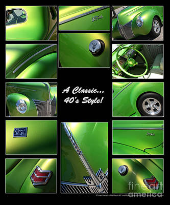 Classic 40s Style - Poster Print by Gary Gingrich Galleries