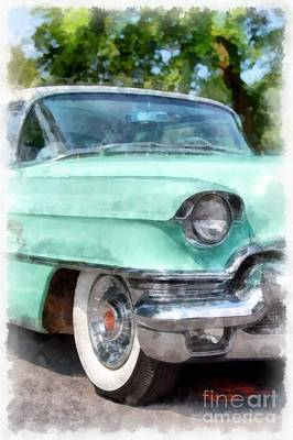 Car Photograph - Classic Caddy by Edward Fielding
