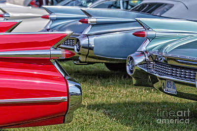 Classic Caddy Fin Party Print by Edward Fielding