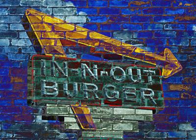 Classic Cali Burger 2.2 Print by Stephen Stookey
