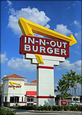 Classic Cali Burger Print by Stephen Stookey