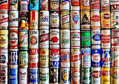 Classic Cans Print by Benjamin Yeager