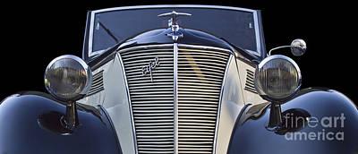 Classic Ford Eifel Cabrio 1939 Print by Heiko Koehrer-Wagner