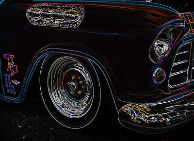 56 Chevy Pickup Photograph - Classic Glow by Steve McKinzie