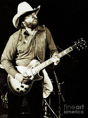 Daniel Photograph - Classic Toy Caldwell Of The Marshall Tucker Band At The Cow Palace-new Years Concert  by Daniel Larsen