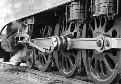 Train Photograph - All Aboard  by Vonnie Murfin