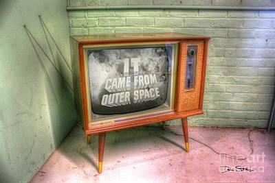 Visual Communication Digital Art - Classic Tv by Dan Stone