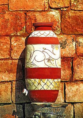 Water Vessels Photograph - Clay Art by Prakash Ghai