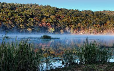 Clayton Lake Morning Original by Carolyn Fletcher