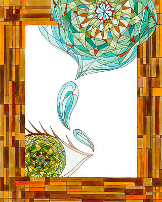 Tears Drawing - Cleansing Tears by Dianne Levy