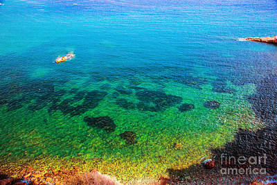 Clean Water Photograph - Clear Water Of The Sea by Michal Bednarek