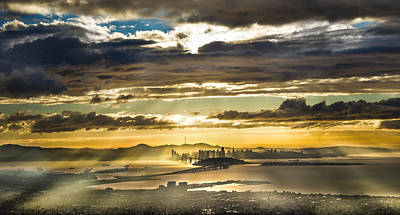 Berkeley Photograph - Clearing Bay Storm by Fred Rowe
