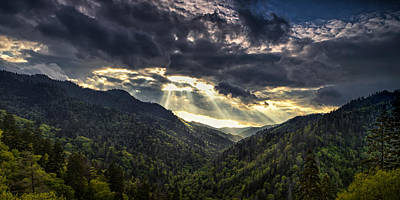 Tennessee Photograph - Clearing Storm Panorama by Andrew Soundarajan