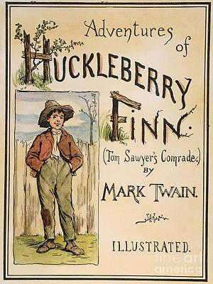 Clemens: Huck Finn, 1885 Print by Granger