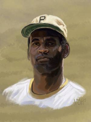 Roberto Clemente Digital Art - Clemente by Jeremy Nash