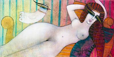 Painting - Cleopatra by Albena Vatcheva