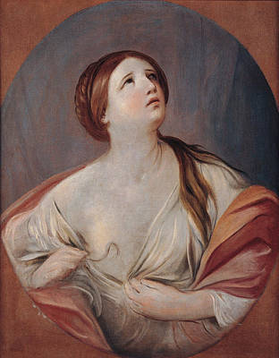 Guido Reni Painting - Cleopatra by Guido Reni